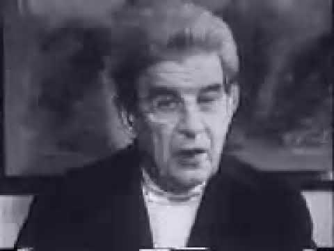 Jacque Lacan on television (1973)